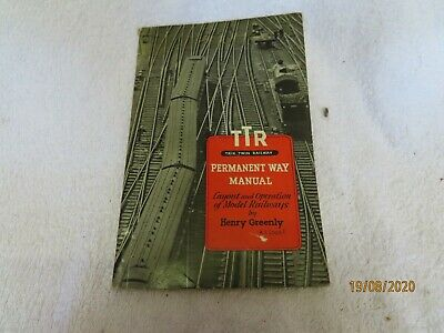 TTR/Trix Twin Railways Permanent Way Manual - Henry Greenly 1954  ~* • 11.25€