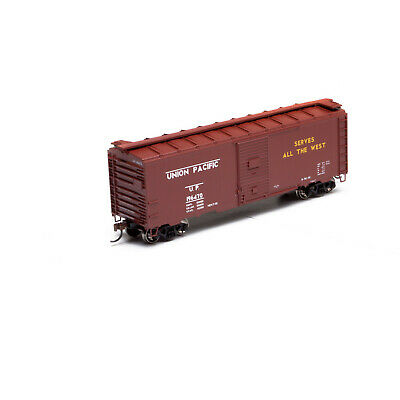 ATHEARN 73537 HO - Box Car 40' Parois Métalliques  UNION PACIFIC 196470 • 30€