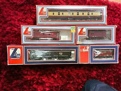 5 Different Lima Train Coaches Pre Owned But Hardly Used  • 33.74€