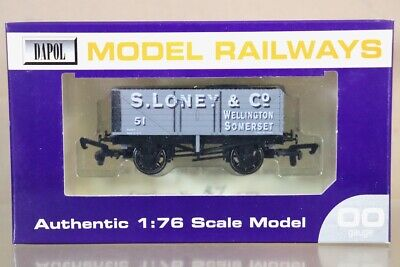 DAPOL S LONEY & CO WELLINGTON SOMERSET 7 PLANK WAGON 51 WESSEX LIMITED EDITION N • 33.19€