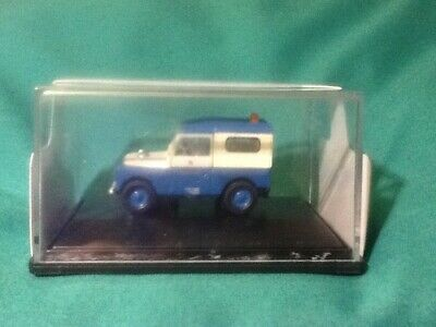 Oxford 1/76 Diecast Model,  Land Rover Blue/White • 5.63€