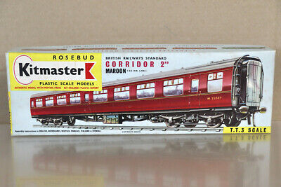 KITMASTER 20 TT GAUGE BR MAROON MK1 CORRIDOR 2nd CLASS COACH KIT Nz • 34.11€