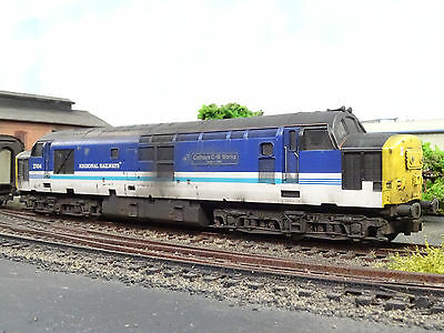Hornby Br Class 37414 Cathays Cw Works (detailed Lineside Weathered) R2775 • 114.80€