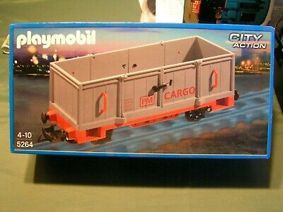 PLAYMOBIL - Compatible LGB - TOMBEREAU   A  PORTES OUVRANTES  (ref 5264) • 44.50€