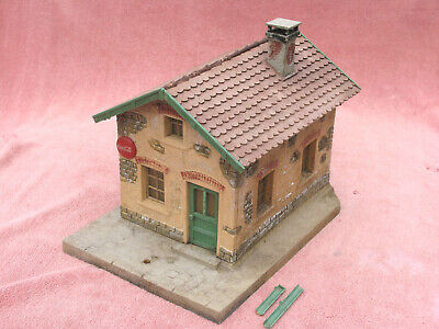 Pola-lgb G-scale: Rustic Railway Station Building - Outdoor Use - Needs Some Tlc • 22.78€