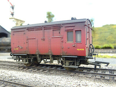 Hornby Lms Horsebox 42409 (lineside Weathered) R6678a • 40.21€