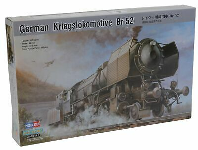Hobbyboss 82901  German Kriegslokomotive Br 52  Plastic Model Kit, 1:72 Scale • 60.86€