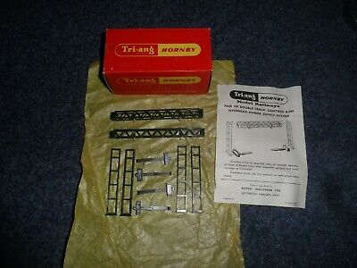 Triang Hornby Oo Gauge R580 Pair Of Opss Gantries Mint In Box Ex Shop Stock • 33.30€