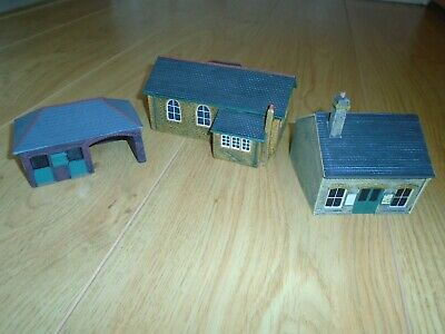 Collection Of Scenix Resin Buildings For Hornby OO Gauge Sets • 22.24€