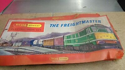 Vintage Tri Ang Hornby Electric Train Set The Freightmaster Edition • 33.35€