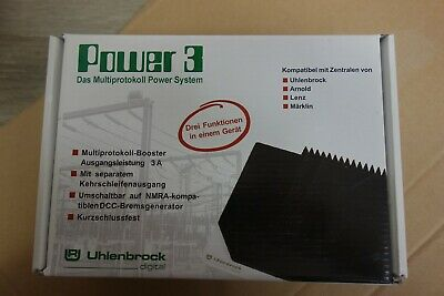 Uhlenbrock Booster Power3 65600 • 45€