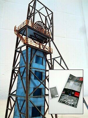 Modelux Gedling Colliery Pithead No.2 Kit • 1.13€