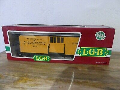 WAGON VOITURE BAGAGES LGB LEHMANN 3084 Train Echelle G No HORNBY JEP • 40€