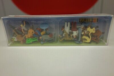 Lot Personnages Faller 153002 HO 1/87 • 16€