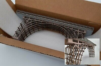 Modelux N Gauge Bronze Effect Ironbridge - Medium - FULLY BUILT • 4.26€