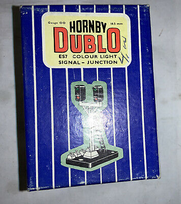 Hornby Dublo New E57 Boxed Colour Light Signals Junction In Fantastic Condition • 22.67€