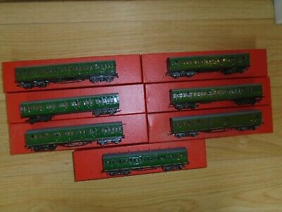 Collection Of Ratio Coaches (Kit Built?) For Hornby OO Gauge - Playworn • 23.15€