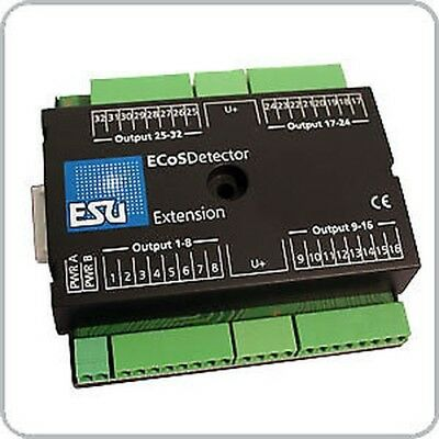 ESU 50095 Ecosdetector Extension 32 Sorties (LED, Ampoules) • 52.99€