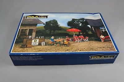 ZE036 Pola G Maquette G1764 Beer Garden Set Biergarten Set Estaminet Plein Air • 74.99€