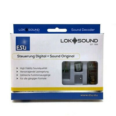 Décodeur Digital 8 Broches NEM652 Loksound V5 Sonore-ESU-58410 • 106.95€