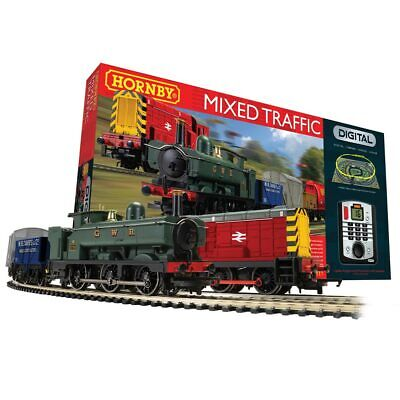 HORNBY Mixed Traffic Digital Train Set With Siding R1236 • 210.14€