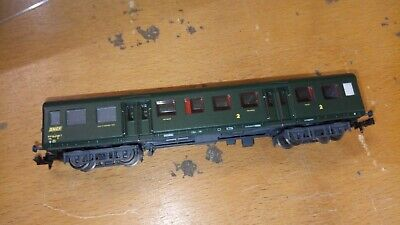 SNCF VOITURE ROMILLY TRAIN 160  Ech N 1/160 • 39€