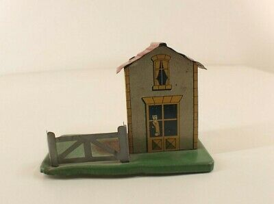CR Charles Rossignol Gare Station Tôle Tin Toy 7,5 Cm • 14.14€