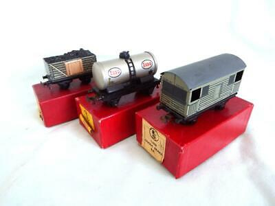 Trix Twin TTR 3 X Boxed Goods Wagons • 4.41€