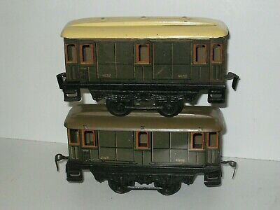2 Wagons Fourgons Fabrication JEP échelle 0 Ref 4632 • 10€