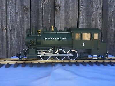USA Trains G Scale DOCKSIDE 0-6-0T STEAM LOCOMOTIVE LR20064 United States Army  • 500€