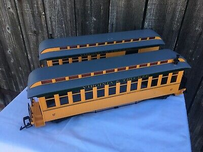 USA Trains #30507 VIRGINIA & TRUCKEE PASSENGER COACH #16 & #17 • 100€