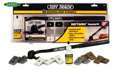 Woodland Scenics Tidy Track Rail Tracker Cleaning Kit Or Choose Accessories N OO • 36.63€