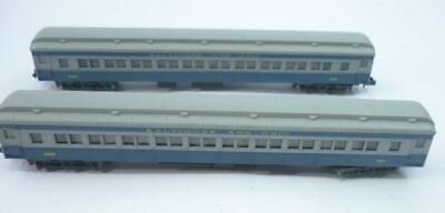 2 X RIVAROSSI N Gauge 12 Wheel HEAVYWEIGHT PASSENGER CARS - B&O - 3558,        O • 11.24€