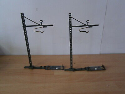 OO/HO Gauge Lima Golden Series Catenary Masts And Feet X 2 • 4.37€