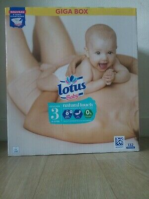 GIGA BOX  Couches Lotus Baby Taille 3 • 25€
