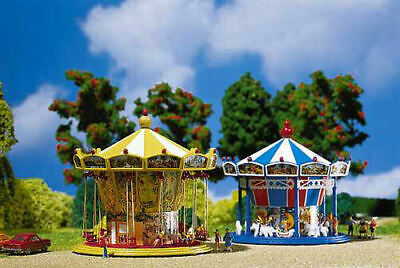 Faller Chairoplane Fairground Building Kit With Motor II N Gauge 242315 • 63.95€