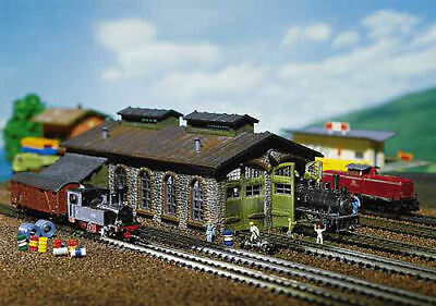Faller Engine Shed Building Kit I N Gauge 222116 • 33.12€
