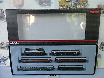 Marklin Z Gauge 81434 DB Overnight Express Train Set. New. Boxed With Papers. • 246.02€