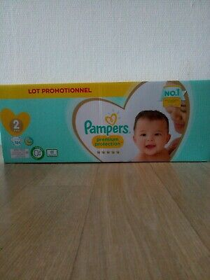 Pack Couches Pampers Premium Taille 2 (124 Couches) • 21€