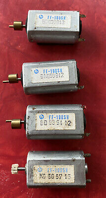 4 Vintage Miniature Can  Motors  Used All Run Well FF 180SH • 5.50€