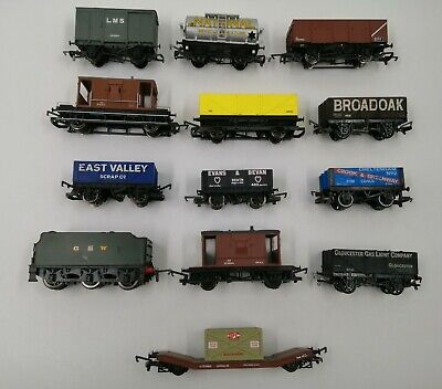 X13 Hornby G.W.R Job Lot: Freight & Rolling Stock 00 Gauge - Excellent Condition • 26.60€