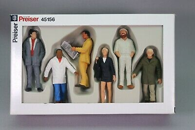 ZS031 Preiser Train 1:22.5 G 45156 Figurine Passants Passers By Passanten • 34.99€