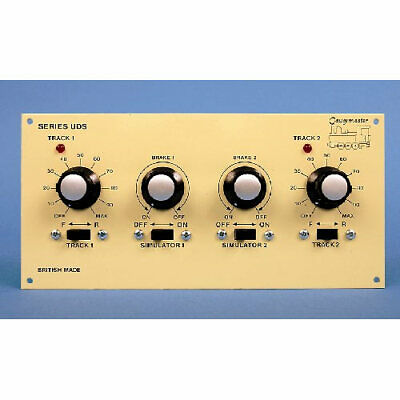 GAUGEMASTER Twin Track Panel Mounted Controller W/ Simulation GMC-UDS • 80.74€