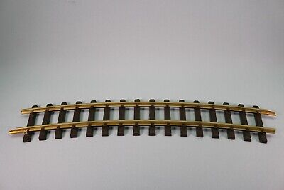 ZS108 LGB Train G 1600 Rail Courbe Curved Track Section R3 22,5° 16000 • 13.49€