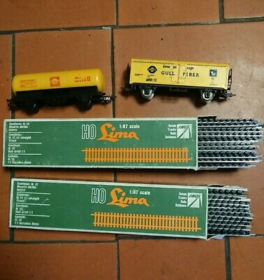 Lot Wagons Et Rails Jouef HO • 18€