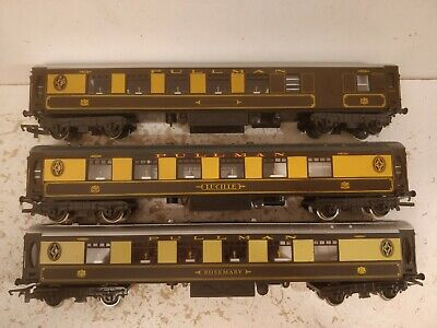 Rake Of 3 Hornby Pullman Coaches For OO Gauge Train Sets • 34.67€