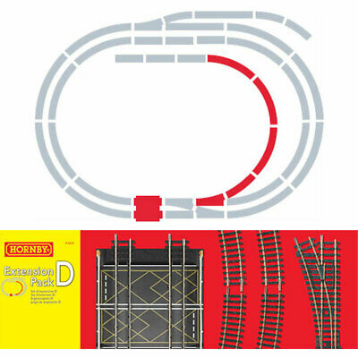 HORNBY Track R8224 Track Pack D • 45.60€