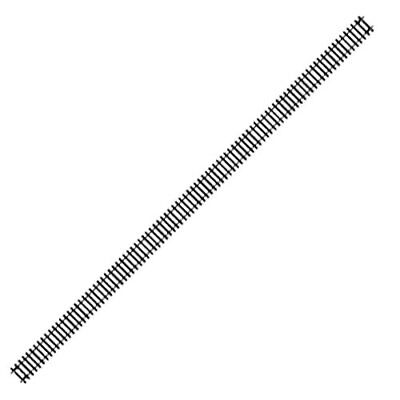 HORNBY Track 8x R603 Long Straight 670mm • 48.86€