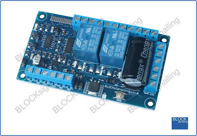BLOCKsignalling REV2 Automatic Reversing Loop Module For DC & DCC Model Railway • 39.54€