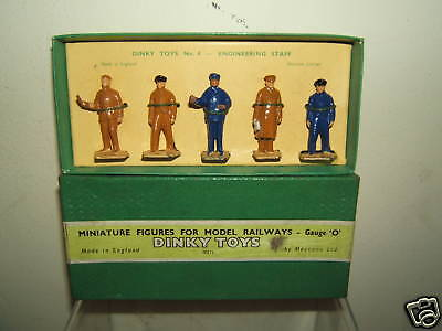 VINTAGE DINKY   GIFT SET   No.4    ENGINEERING STAFF       VN MIB • 126.82€